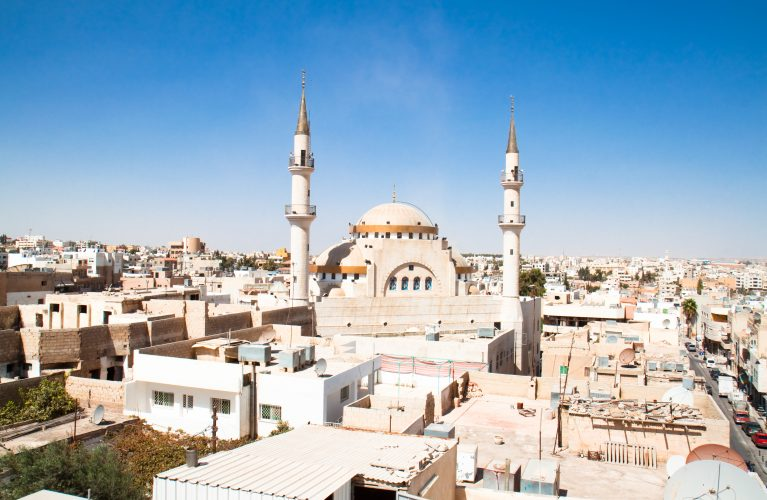 Islamic Mosque in Madaba, Jordan